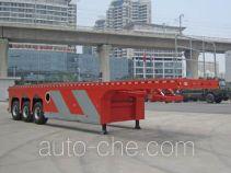 Hasheng Huazhou HZT9400TYC timber/pipe transport trailer