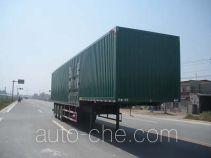 Kelier HZY9403XXY box body van trailer