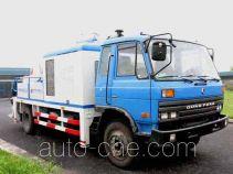 Hongzhou HZZ5100THB truck mounted concrete pump