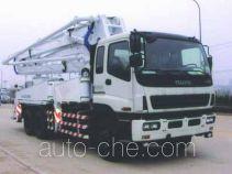 宏宙牌HZZ5250THB型混凝土泵车