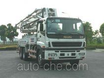 宏宙牌HZZ5270THB型混凝土泵车
