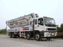 宏宙牌HZZ5381THB型混凝土泵车