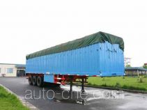 Hongzhou HZZ9390XXY box body van trailer