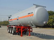 Hongzhou HZZ9400GFW corrosive materials transport tank trailer