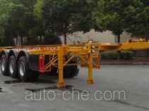 Hongzhou HZZ9400TWY dangerous goods tank container skeletal trailer