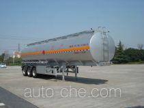 Hongzhou HZZ9401GRY flammable liquid aluminum tank trailer