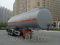 Hongzhou HZZ9401GRYA flammable liquid aluminum tank trailer
