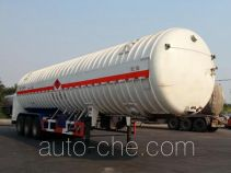 Hongzhou HZZ9402GDY cryogenic liquid tank semi-trailer