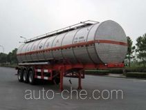 Hongzhou HZZ9402GFW corrosive materials transport tank trailer