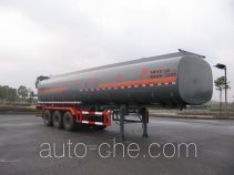 Hongzhou HZZ9403GHY chemical liquid tank trailer
