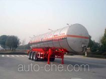 Hongzhou HZZ9403GRY flammable liquid tank trailer