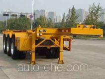 Hongzhou HZZ9403TWY dangerous goods tank container skeletal trailer