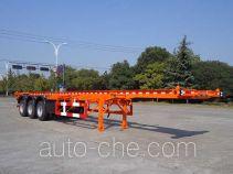 Hongzhou HZZ9404TWY dangerous goods tank container skeletal trailer