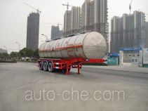 Hongzhou HZZ9408GHY chemical liquid tank trailer