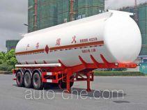 Hongzhou HZZ9408GRY flammable liquid tank trailer