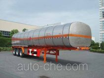 Hongzhou HZZ9409GRYA flammable liquid tank trailer