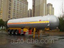 Hongzhou HZZ9409GYQA liquefied gas tank trailer