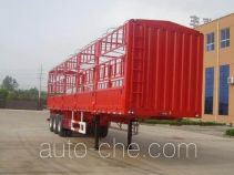 大力士牌JAT9400CCY型仓栅式运输半挂车