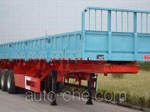 大力士牌JAT9400ZZX型自卸半挂车