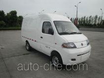 达福迪牌JAX5020XXYBEVF120LB15M2X2型纯电动厢式运输车
