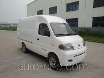 达福迪牌JAX5020XXYBEVF135LAB15M2X2型纯电动厢式运输车
