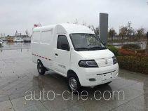 达福迪牌JAX5021XXYBEVF216LB15M2X2型纯电动厢式运输车
