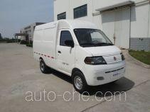 达福迪牌JAX5022XXYBEVF120LB15M2X2型纯电动厢式运输车