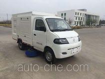 达福迪牌JAX5024TSLBEVF266LB15M1T1型纯电动扫路车