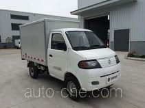 达福迪牌JAX5024XXYBEVF266LB15M2X1型纯电动厢式运输车