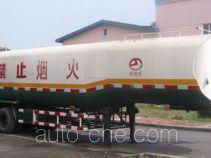 建成牌JC9340GYY型半挂运油车