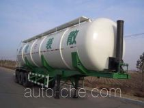 Bulk cargo lifting tank trailer