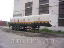 建成牌JC9401GYY型半挂运油车