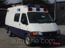 实力牌JCC5030XZF1型执法车