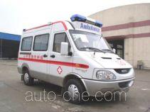 实力牌JCC5033XJH型救护车