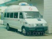 实力牌JCC5050XTY型体检医疗车