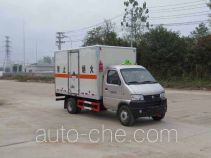 Jiangte dangerous goods transport van truck