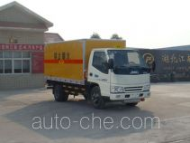 Jiangte JDF5040XQYJ explosives transport truck