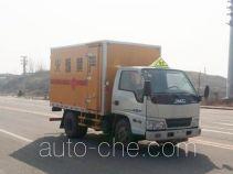 Jiangte JDF5040XQYJX explosives transport truck