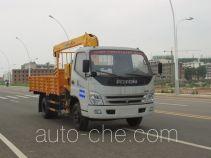 Jiangte JDF5070JSQB4 truck mounted loader crane