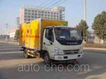 Jiangte JDF5080XRYB5 flammable liquid transport van truck