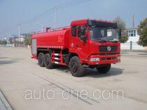 Jiangte desert off-road water tank truck