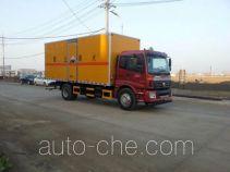 Jiangte JDF5160XFWBJ4 автофургон для перевозки коррозионно-активных грузов