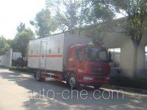 Jiangte JDF5160XFWLZ5 corrosive goods transport van truck