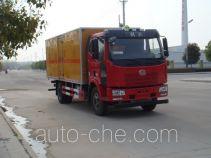 Jiangte JDF5160XQYC4 explosives transport truck