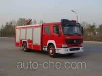 Jiangte JDF5190GXFPM70Z foam fire engine