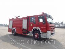 Jiangte JDF5203GXFPM80 foam fire engine