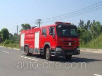 Jiangte JDF5204GXFPM80 foam fire engine