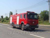 Jiangte JDF5204GXFSG80 fire tank truck