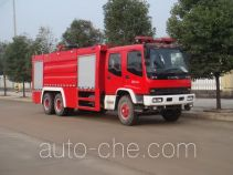 Jiangte JDF5252GXFPM110 foam fire engine