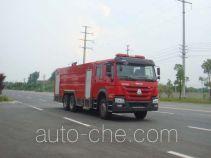 Jiangte JDF5314GXFSG160 fire tank truck